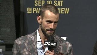 Here's everything CM Punk said during the UFC 203 pre-fight press conference