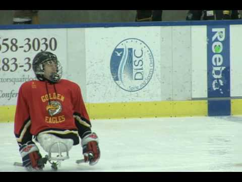 2010 Paralympics: Greg Shaw - USA Sled Hockey