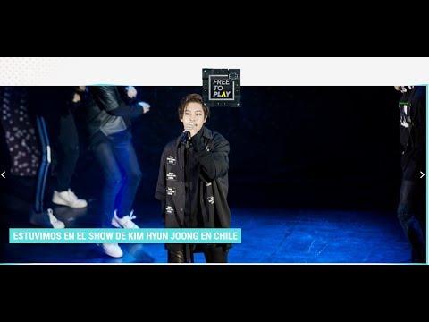 KIM HYUN JOONG- tour HAZE en chile CANAL ETC