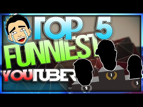 TOP 5 FUNNIEST YOUTUBERS OF 2016 [BEST TRENDING, COMEDY, REACTIONS,  GAMING ]