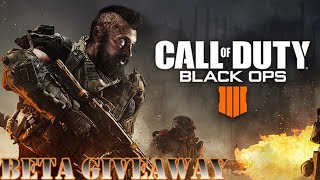 CALL OF DUTY BLACK OPS 4 BETA CODE GIVEAWAY (How To Get Free Beta Codes)