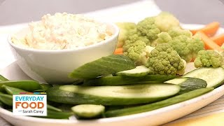 Garden Veggie Dip Recipe - Everyday Food With Sarah Carey