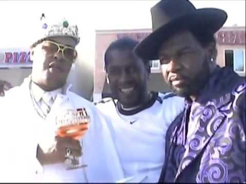 Gangsta Brown Release some footage of 1987 some of the real pimps