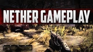 NETHER Gameplay - Nether Survival MMO - Part 1