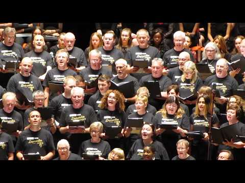 "9th July 2018 - Dementia Choir perform ""Hakuna Matata"" at Bham Symphony Hall"
