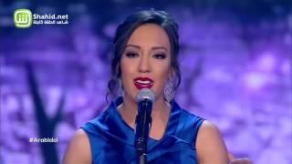 Arab Idol – العروض المباشرة – نادين الخطيب – انا قلبي ليك ميال