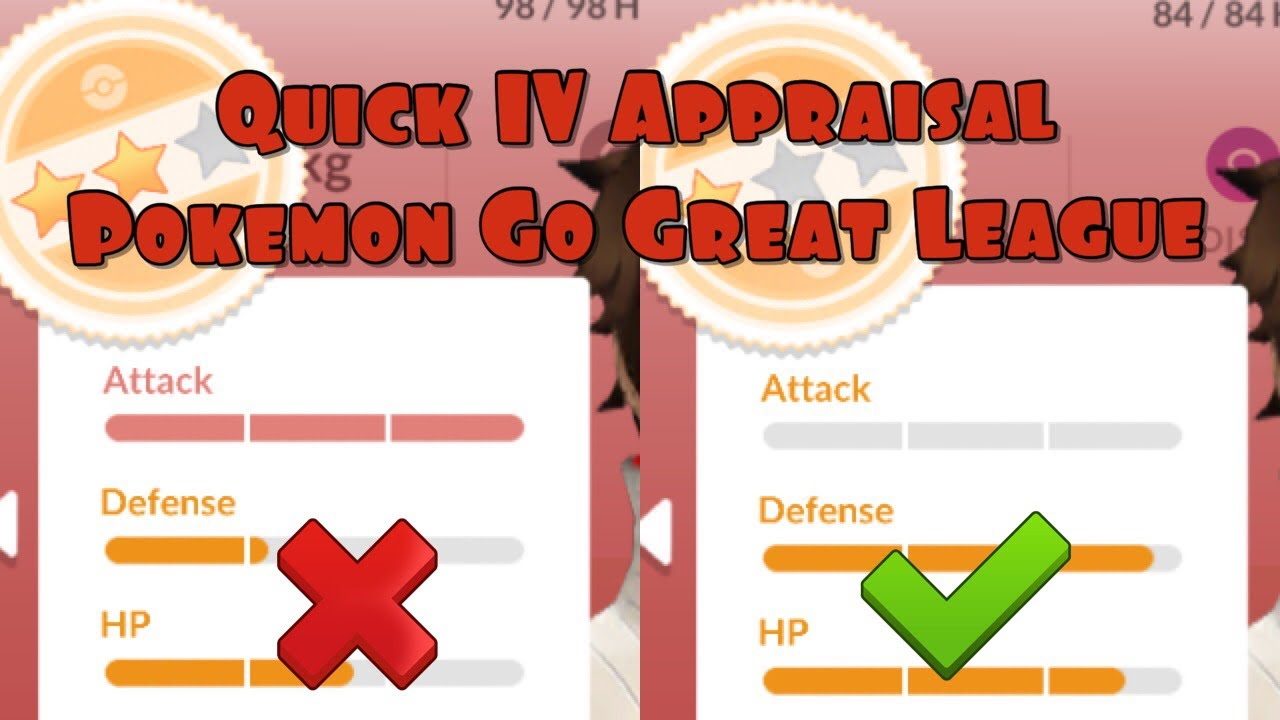 Pokemon Go PvP Bootcamp - Quick IV Appraisals and PvP Ranks