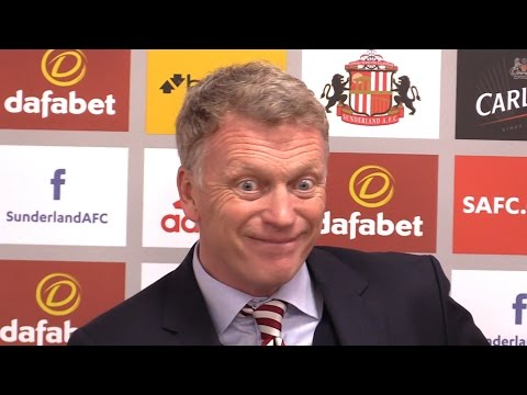 Sunderland 0-3 Manchester United - David Moyes Full Post Match Press Conference