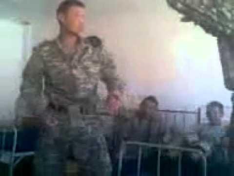Как издеваются в армии