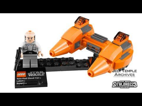 LEGO Star Wars 9678 Twin-Pod Cloud Car /& Bespin w//Mini Figure