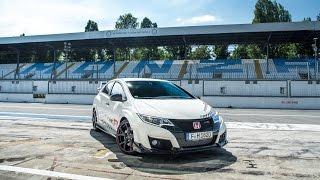 Honda Civic Type R sets new benchmark time at Monza - Norbert Michelisz