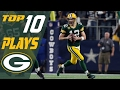 Packers Top 10 Plays Of The 2016 Season Nfl Highlights