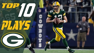 Packers Top 10 Plays of the 2016 Season | NFL Highlights