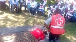 Kibabi red cross chapter in Bungoma branch