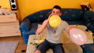 Balloon pop Steven