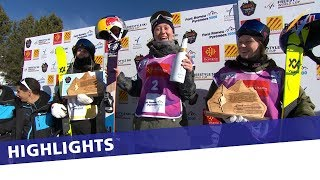 Local idol Tess Ledeux retains Ski Slopestyle title at Font Romeu | Highlights
