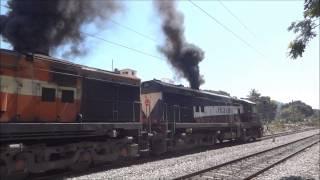 SMOKE ERUPTION KARNATAKA EXPRESS 12628