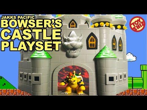NINTENDO JAKKS PACIFIC- Bowsers Castle 2.5IN PLAYSET