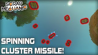 Momentum Transfer Update and Improved Cluster Missile! (Scrap Mechanic #337)