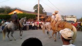 Cabalgata paseo de mayo zanatepec Oaxaca