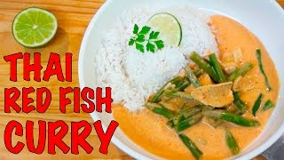 Thai Red Fish Curry Recipe - Greg's Kitchen