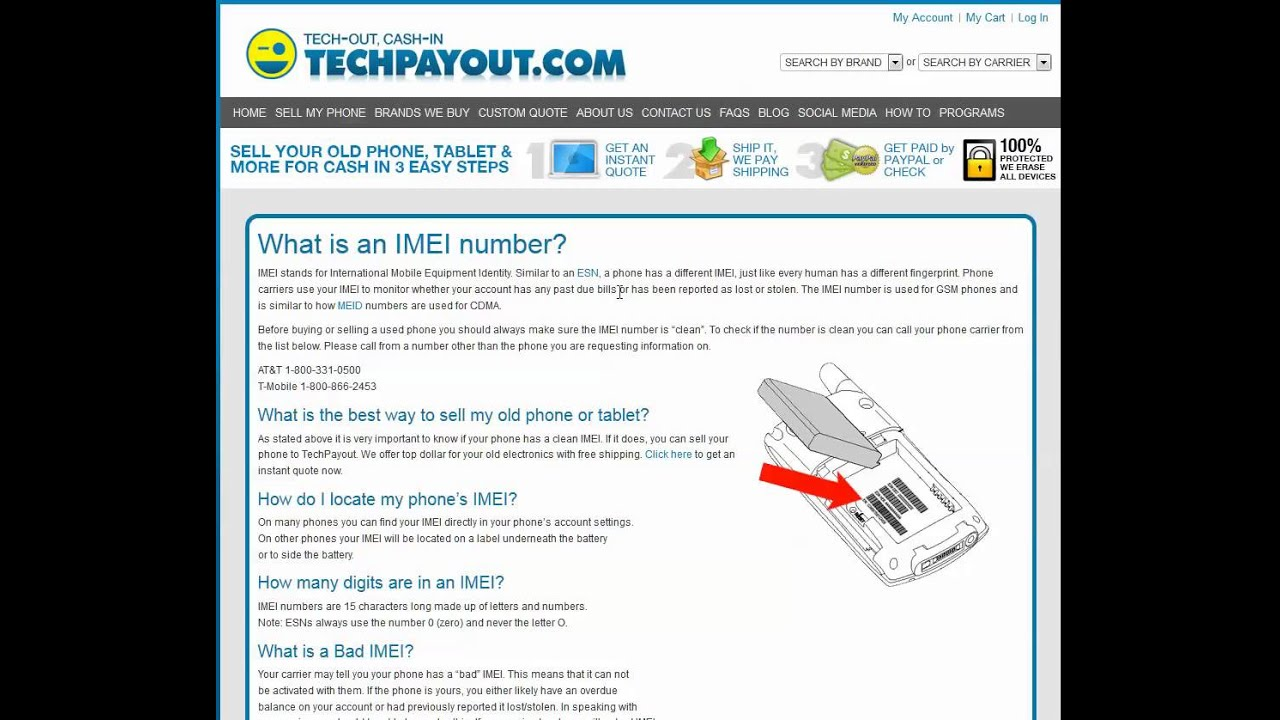What Is An Imei Number  How Do You Find It  Youtube
