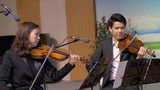 """Come, Thou Almighty God"" 전능왕 오셔서 (Hymn Fantasy for string quartet by Johann Kim/ Loben Quartet)"
