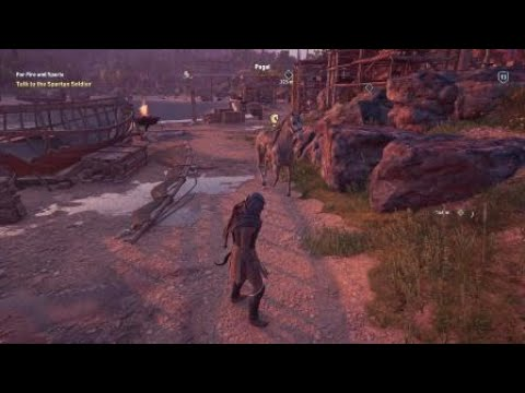 Swimming In The Air Glitch In Assassin S Creed Odyssey Youtube