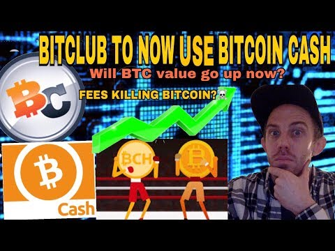 WILL BITCOIN CASH BEING ADDED TO BITCLUB NETWORK SHOOT BITCOIN CASH TO THE MOON IN 2018?