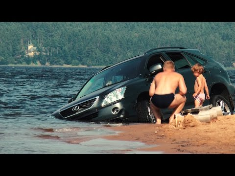 Lexus тонет в