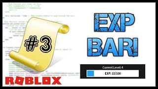 ROBLOX: How to Make an Advanced Exp System - Roblox Scripting Tutorial