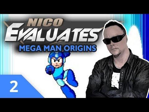 Nico Evaluates - Mega Man Origins (Episode 2, I QUIT!)