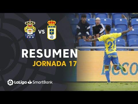 Resumen de UD Las Palmas vs Real Oviedo (3-1)