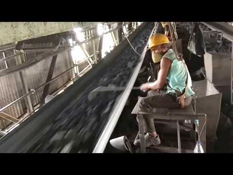 The Stone Pickers In A Coal Handling Plant