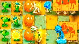 Игра - Растения Против Зомби 2 - смотреть прохождение от Flavios #3
