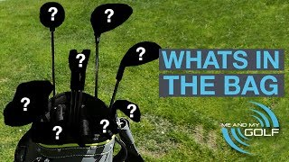 WHATS IN THE BAG? PIERS WARD - ME AND MY GOLF