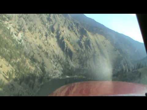 Landing at Wilson Bar USFS Idaho