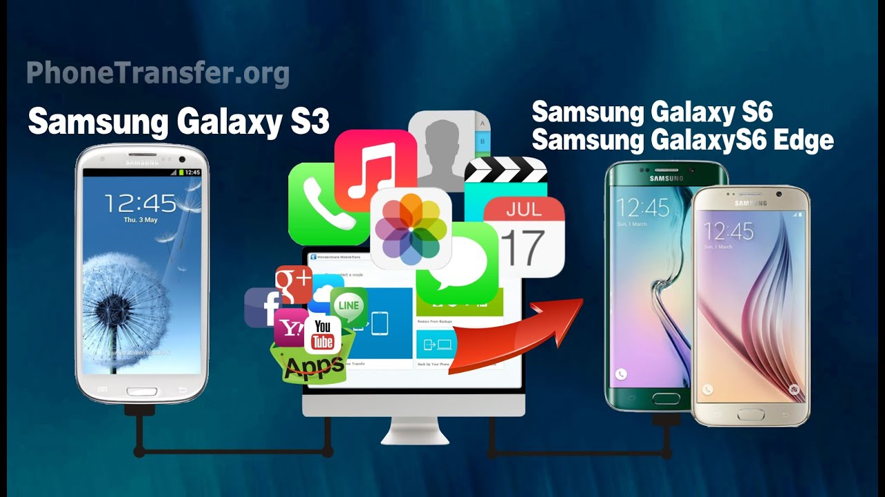how to get data from broken samsung s6