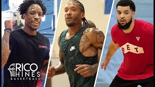 Demar Derozan, Fred Vanvleet, Michael Beasley and MORE at RIco Hines Private Run