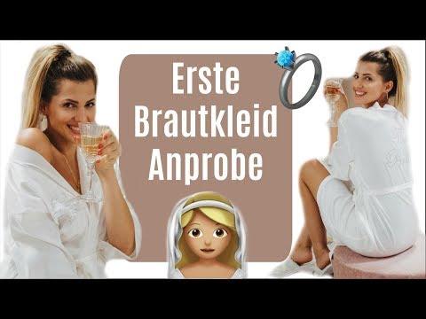 ♡ BRAUTKLEID ANPROBE ♡ Haltet die Taschentücher bereit