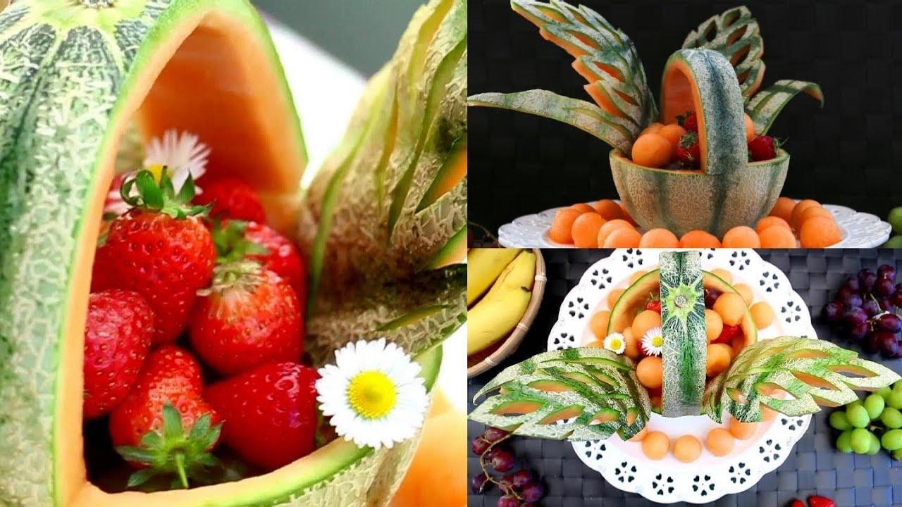 Art in Fruit Decoration Basket   Fruit & Vegetable Carving ...