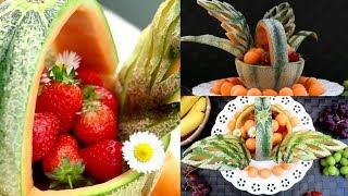 Art in Fruit Decoration Basket | Fruit & Vegetable Carving Lessons
