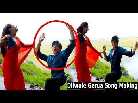 OMG! Kajol Saves Shah Rukh Khan's LIFE While Shooting For Gerua Song In Dilwale
