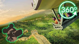 360º 4K Ride on Soarin' Around The World at EPCOT