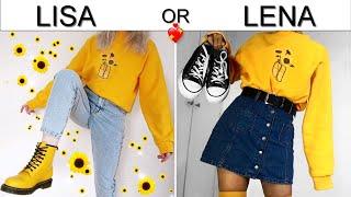 LISA OR LENA 💖 Back To School Outfit Ideas. Pinkazina