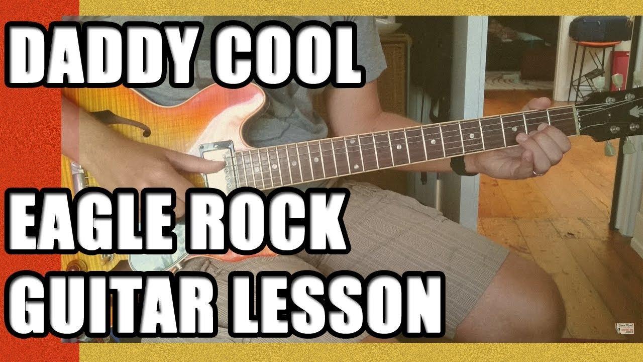 Eagle rock guitar