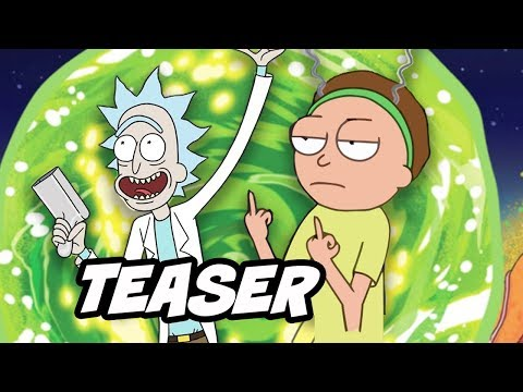Rick and Morty Season 3 Teaser Breakdown