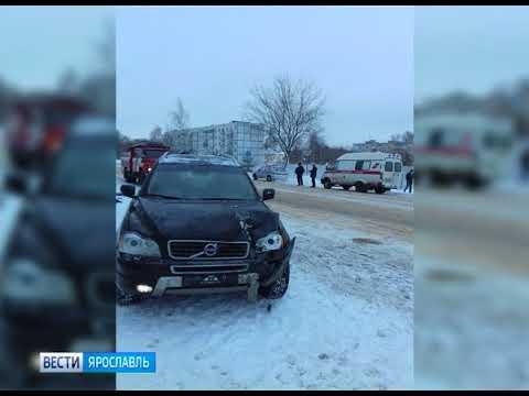 Несколько ДТП с пострадавшими случилось в Рыбинске