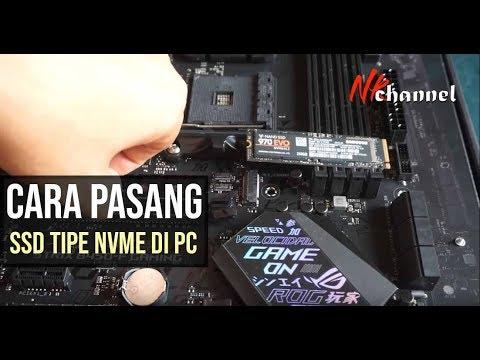 Cara Ganti & Pasang SSD di Laptop Yang Lemot.