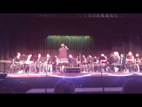 Star Wars performed by the Windham Middle School and Charles H Barrows Stem Academy